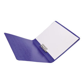 "Presstex Grip Punchless Binder With Spring-Action Clamp, 5/8"" Cap, Dark Blue, Price/EA"
