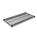 ALERA ALESW583618BL Industrial Wire Shelving Extra Wire Shelves, 36w X 18d, Black, 2 Shelves/carton