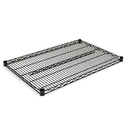 ALERA ALESW583624BL Industrial Wire Shelving Extra Wire Shelves, 36w X 24d, Black, 2 Shelves/carton