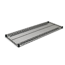 ALERA ALESW584818BL Industrial Wire Shelving Extra Wire Shelves, 48w X 18d, Black, 2 Shelves/carton