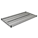 ALERA ALESW584824BL Industrial Wire Shelving Extra Wire Shelves, 48w X 24d, Black, 2 Shelves/carton