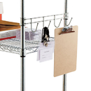 ALERA ALESW59HB418SR Hook Bars For Wire Shelving, Four Hooks, 18