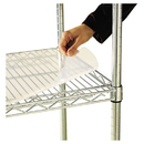 ALERA ALESW59SL4818 Shelf Liners For Wire Shelving, Clear Plastic, 48w X 18d, 4/pack