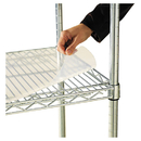 ALERA ALESW59SL4824 Shelf Liners For Wire Shelving, Clear Plastic, 48w X 24d, 4/pack