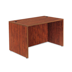 Valencia Series Straight Front Desk Shell, 47-1/4 X 29-1/2 X 29-1/2, Med Cherry, Price/EA