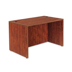 ALERA ALEVA214830MC Valencia Series Straight Front Desk Shell, 47-1/4 x 29-1/2 x 29-1/2, Med Cherry, Price/EA