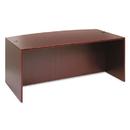 ALERA ALEVA227236MY Valencia Bow Front Desk Shell, 71w X 35 1/2d To 41 3/8d X 29 1/2h, Mahogany
