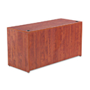 ALERA ALEVA256024MC Valencia Series Credenza Shell, 59 1/8w X 23 5/8d X 29 1/2h, Medium Cherry