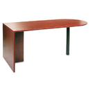 ALERA ALEVA277236MC Valencia Series D Top Desk, 71w X 35 1/2d X 29 1/2h, Medium Cherry