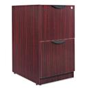 ALERA ALEVA542822MY Valencia File/file Drawer Full Pedestal, 15 5/8w X 20 1/2d X 28 1/2h, Mahogany