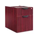 ALERA ALEVA552222MY Valencia Series 3/4 Box/file Pedestal, 15 5/8w X 20 1/2d X 19 1/4h, Mahogany