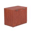 ALERA ALEVA613622MC Valencia Series Storage Cabinet, 34w X 22 3/4d X 29 1/2h, Medium Cherry