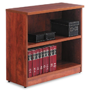 ALERA ALEVA633032MC Valencia Series Bookcase, Two-Shelf, 31 3/4w X 14d X 29 1/2h, Medium Cherry