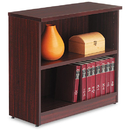 ALERA ALEVA633032MY Valencia Series Bookcase, Two-Shelf, 31 3/4w X 14d X 29 1/2h, Mahogany