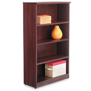 ALERA ALEVA635632MY Valencia Series Bookcase, Four-Shelf, 31 3/4w X 14d X 55h, Mahogany