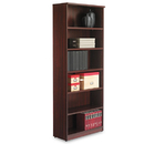 ALERA ALEVA638232MY Valencia Series Bookcase, Six-Shelf, 31 3/4w X 14d X 80 3/8h, Mahogany
