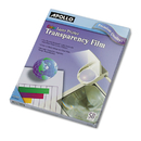 ACCO BRANDS APOCG7070 Color Laser Transparency Film W/o Sensing Stripe, Letter, Clear, 50/box
