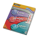 ACCO BRANDS APOUF1000E Color Laser/inkjet Transparency Film W/o Sensing Stripe, Letter, Clear, 50/box