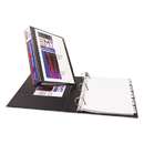 AVERY-DENNISON AVE17021 Durable View Binder W/slant Rings, 11 X 8 1/2, 1 1/2