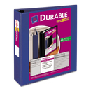 AVERY-DENNISON AVE17034 Durable View Binder W/slant Rings, 11 X 8 1/2, 2