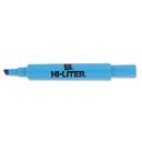 AVERY-DENNISON AVE24016 Desk Style Highlighter, Chisel Tip, Fluorescent Blue Ink, Dozen