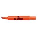 AVERY-DENNISON AVE24050 Desk Style Highlighter, Chisel Tip, Fluorescent Orange Ink, Dozen
