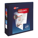 AVERY-DENNISON AVE79803 Heavy-Duty View Binder W/locking 1-Touch Ezd Rings, 3
