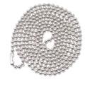 ADVANTUS CORPORATION AVT75417 Id Badge Holder Chain, Ball Chain Style, 36