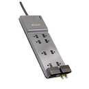 Belkin BLKBE10823006 Office Series Surgemaster Surge Protector, 8 Outlets, 6 Ft Cord, 3390 Joules