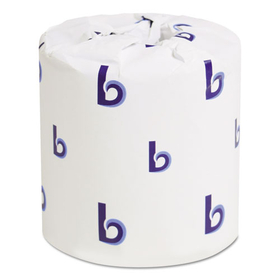 LAGASSE, INC. BWK6180 Bath Tissue, 2-Ply, 500 Sheets/Roll, White, 96 Rolls/Carton, Price/CT