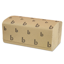 LAGASSE, INC. BWK6210 Singlefold Paper Towels, Natural, 9 X 9 9/20, 250/pack, 16 Packs/carton