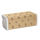 LAGASSE, INC. BWK6220 C-Fold Paper Towels, Bleached White, 200 Sheets/pack, 12 Packs/carton