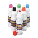 THE CHENILLE KRAFT COMPANY CKC2400 Sponge Paint Set, 6 Assorted Colors, 2.2 Oz, 6/set