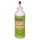 THE CHENILLE KRAFT COMPANY CKC3375 Kraft Tacky Glue, 4 Oz, Liquid