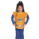 THE CHENILLE KRAFT COMPANY CKC5207 Kraft Artist Smock, Fits Kids Ages 3 8, Vinyl, Bright Colors