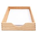 ADVANTUS CORPORATION CVR07211 Hardwood Letter Stackable Desk Tray, Oak