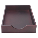ADVANTUS CORPORATION CVR07223 Hardwood Legal Stackable Desk Tray, Mahogany