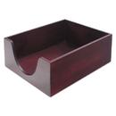 ADVANTUS CORPORATION CVR08213 Hardwood Letter Stackable Desk Tray, Mahogany