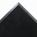CROWN MATS & MATTING CWNMASR42BK Mat-A-Dor Entrance/scraper Mat, Rubber, 24 X 32, Black
