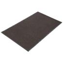 CROWN MATS & MATTING CWNNR0035BR Needle Rib Wipe & Scrape Mat, Polypropylene, 36 X 60, Brown