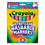 Crayola CYO587816 Washable Markers, Conical Point, Tropical Colors, 8/Set