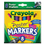Crayola CYO588173 Washable Poster Markers, Assorted, 8/pack
