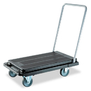 DEFLECTO CORPORATION DEFCRT550004 Heavy-Duty Platform Cart, 500lb Capacity, 21w X 32 1/2d X 37 1/2h, Black