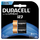 DURACELL PRODUCTS COMPANY DURDL123AB2BPK Ultra High-Power Lithium Battery, 123, 3v, 2/pack