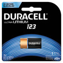 DURACELL PRODUCTS COMPANY DURDL123ABPK Ultra High-Power Lithium Battery, 123, 3v, 1/ea