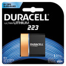 DURACELL PRODUCTS COMPANY DURDL223ABPK Ultra High Power Lithium Battery, 223, 6v, 1/ea