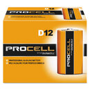 DURACELL PRODUCTS COMPANY DURPC1300 Procell Alkaline Batteries, D, 12/box