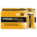 DURACELL PRODUCTS COMPANY DURPC1604BKD Procell Alkaline Batteries, 9v, 12/box