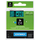 DYMO DYM45019 D1 High-Performance Polyester Removable Label Tape, 1/2