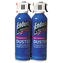 NORAZZA, INC. END246050 Compressed Gas Duster, 2 3.5oz Cans/pack